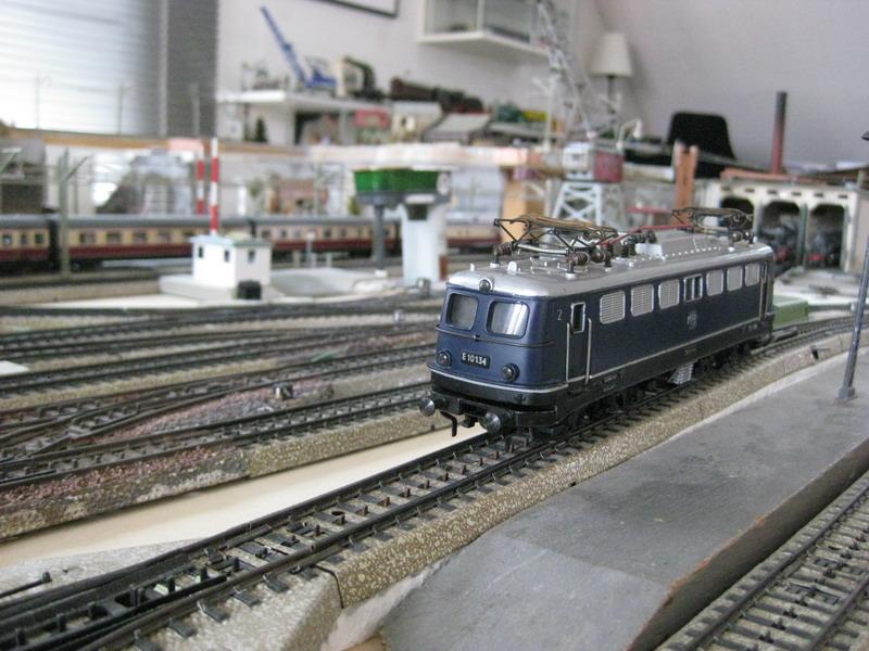 Umbau Fleischmann 1337 auf Märklin