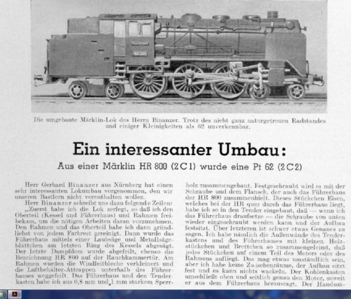 Unikate/Umbauten Loks 00/H0