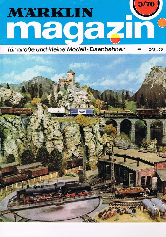 Deckblatt Märklin Magazin 3/70