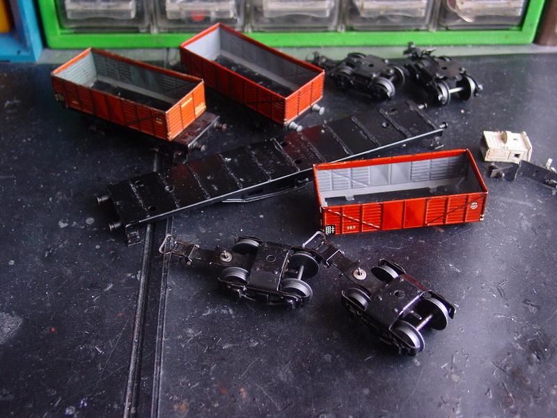 Unikate/Umbauten Waggons H0/00