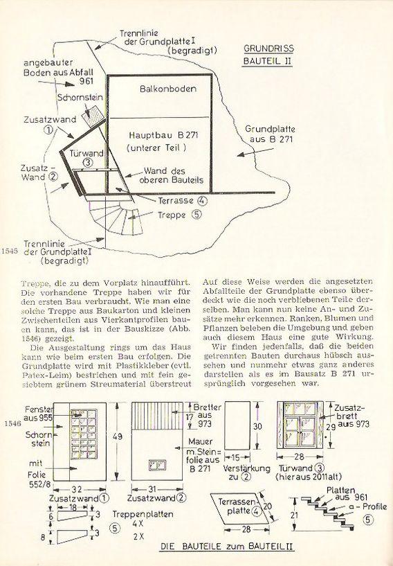 Variante des Faller Bausatzes B-271 Villa im Tessin