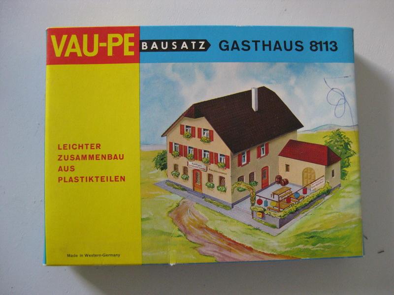 Vau-Pe Bausatz Gasthaus 8113 H0
