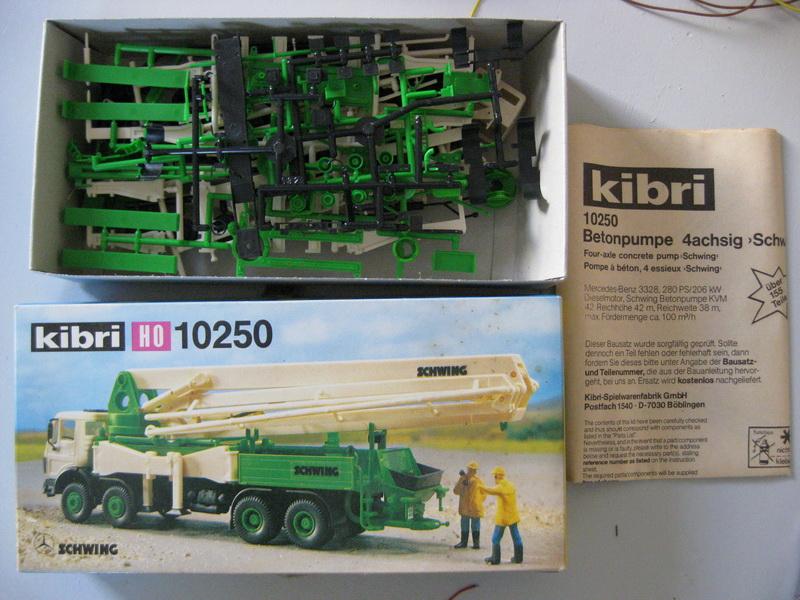 Kibri Bausatz H0 10250