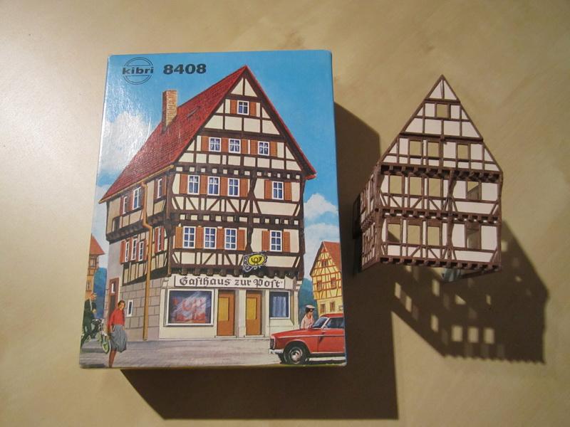 Kibri Bausatz Gasthaus zur Post 8408