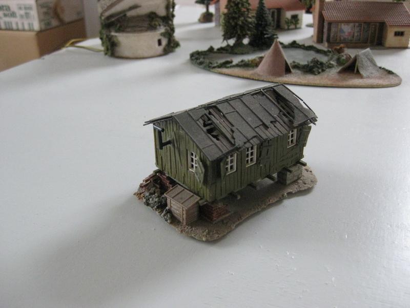 Vollmer H0 Bauhütte 5728
