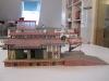 Vollmer Güterschuppen mit Seitenrampe und Verladekran 5201/5701