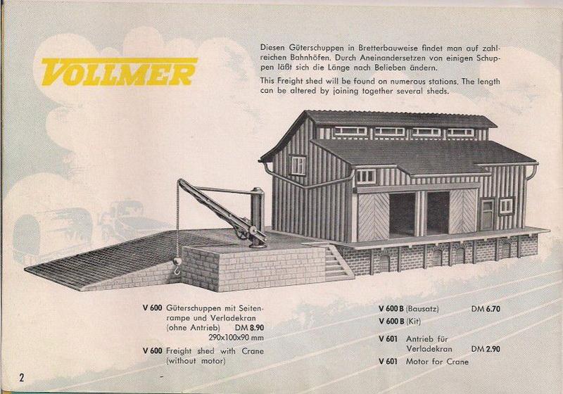 Vollmer Güterschuppen