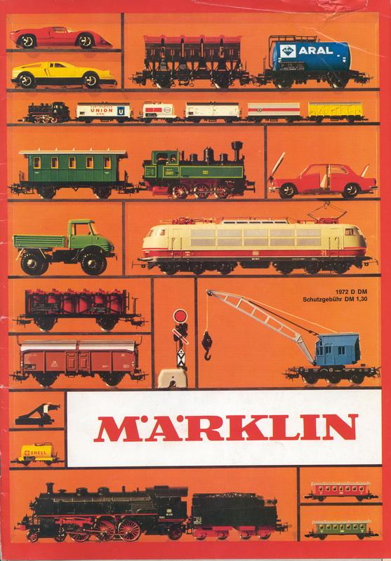 Deckblatt Märklin Katalog D1972