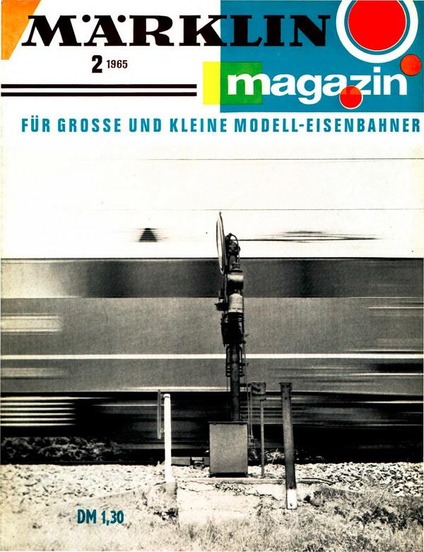 Deckblatt Märklin Magazin 2 1965