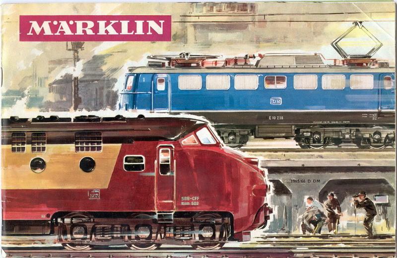 Deckblatt Märlin Katalog D 1965/66