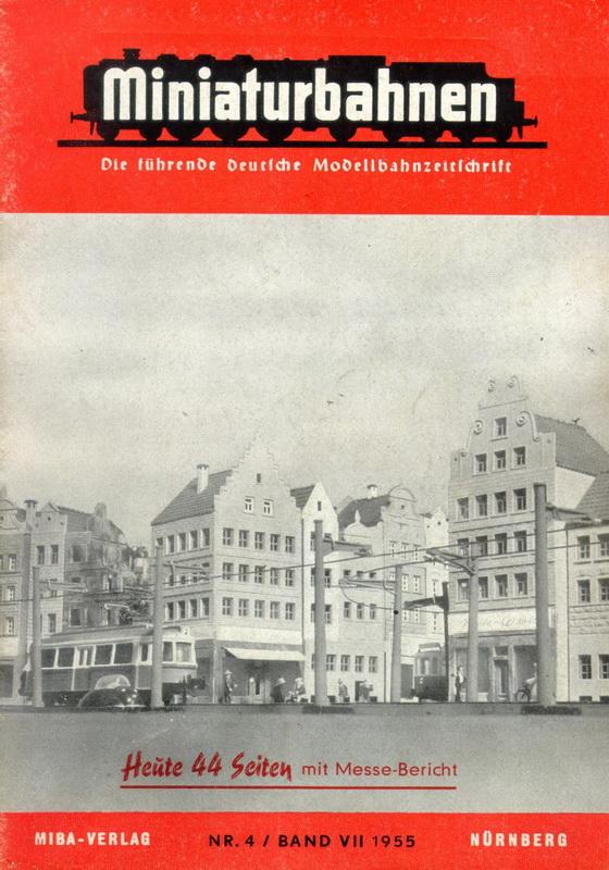 MIBA Heft Nr. 4 / Band VII 1955