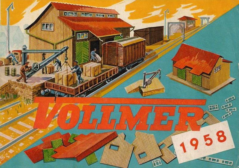 Deckblatt Vollmer Katalog 1958