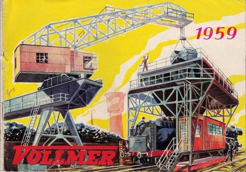 Vollmer Katalog Deckblatt 1959