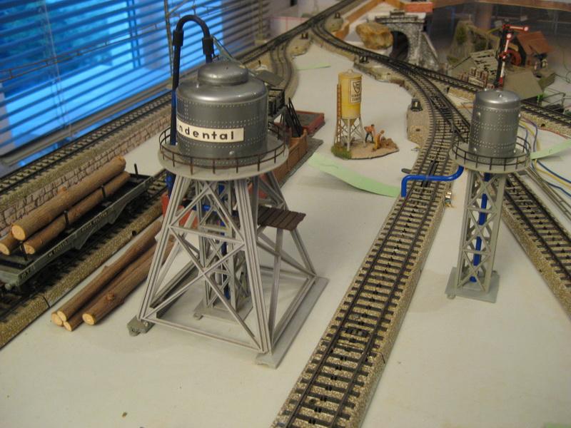 Vollmer Wasser- V 610B und Besandungsturm V 609B