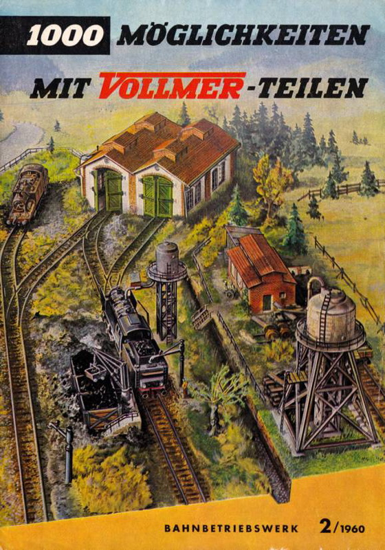 Vollmer BW - Zubehör 1958