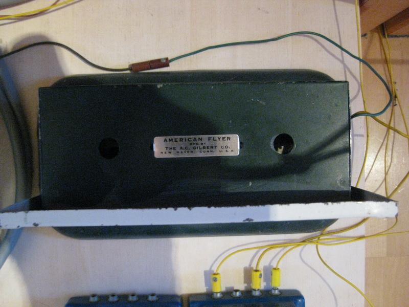 Zugpfeife - elektromechanischer Zubehör, American Flyer