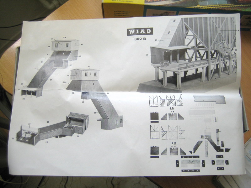 Bauanleitung Firma Wiad Schotterwerk 302 B