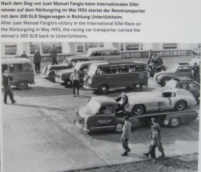 Mercedes-Benz Rennwagen-Schnelltransporter 1955