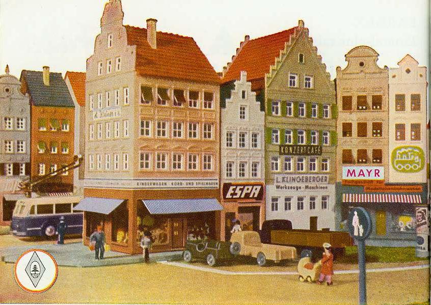 Faller Broschüre Modellbau leicht gemacht ca. 1959