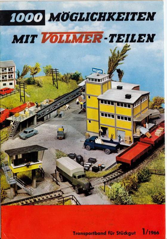 Vollmer Transportband für Stückgut 1/1966