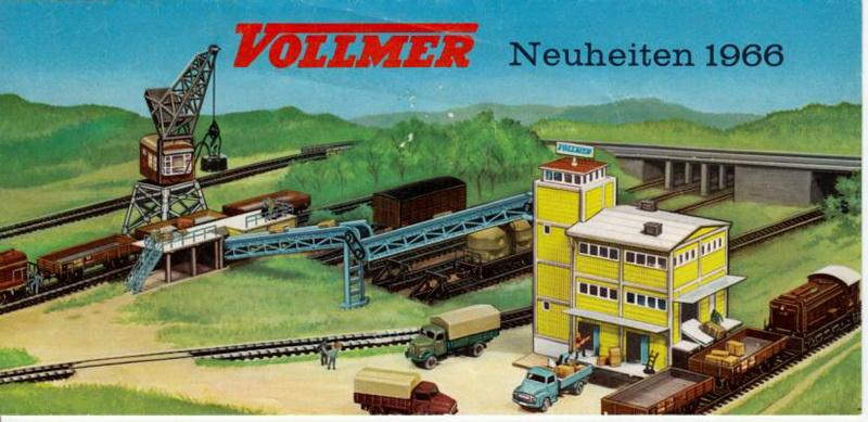 Vollmer Neuheiten 1966