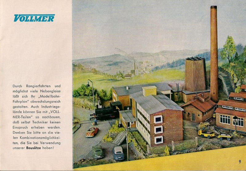 Wiking Autos Vollmer Katalog 1961/62