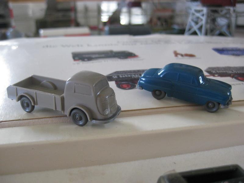 Wiking Autos, Tempo Matador (Typ 2) 143/1, Opel Olympia Rekord 119/1