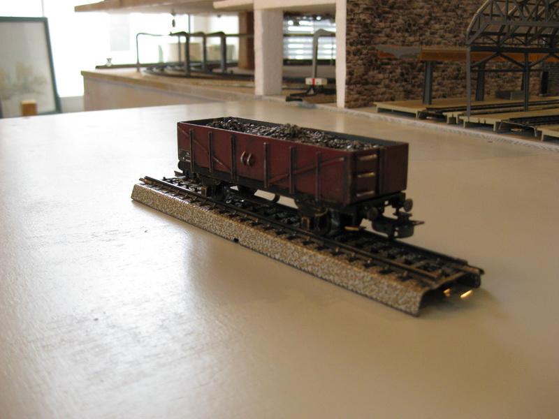 Selbstbau H0, offener Güterwagen