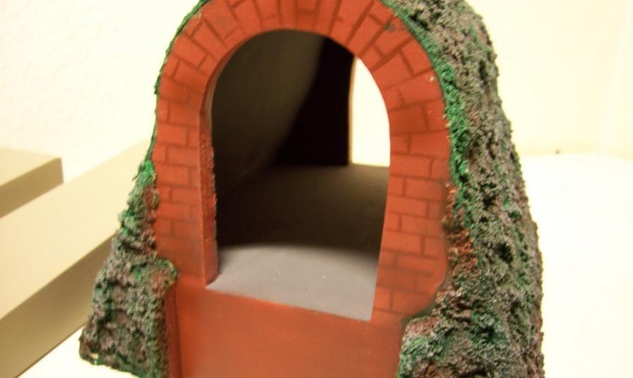 Nachbau Kibri Tunnel für Brückenbausystem 0/66/44