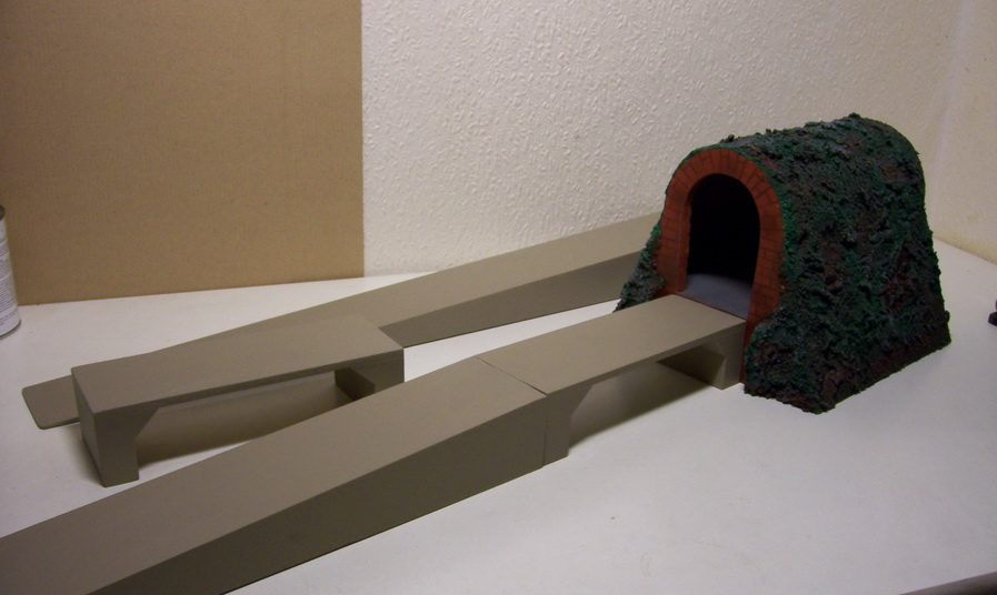 Nachbau Kibri Brückenbausystem 0/66/44