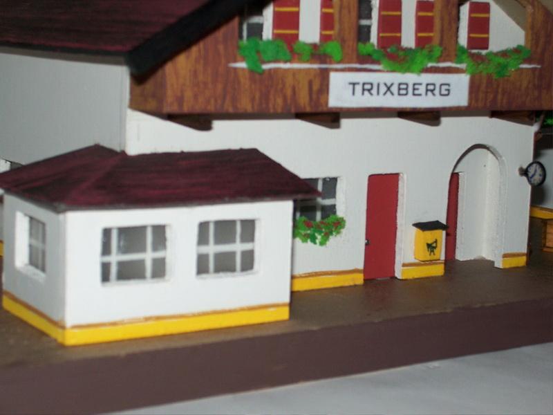 Nachbau Trix Bahnhof Trixberg 20/315