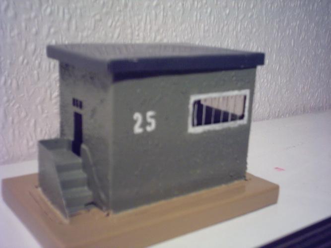 Nachbau Trix Blech Stellwerkhaus Trix 20/293