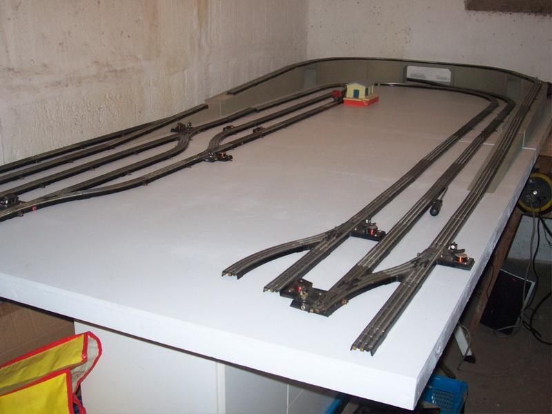 Nachbau Trix Brücke mit Auffahrts- und Abfahrtsrampe