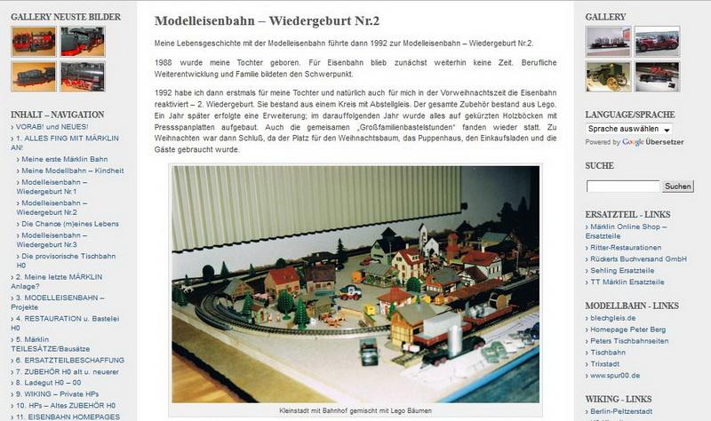Modelleisenbahn – Wiedergeburt Nr.2