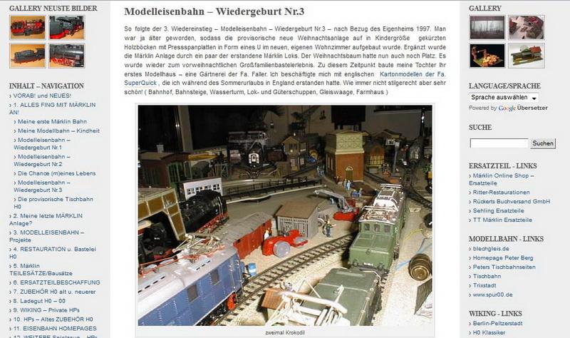 Modelleisenbahn – Wiedergeburt Nr.3