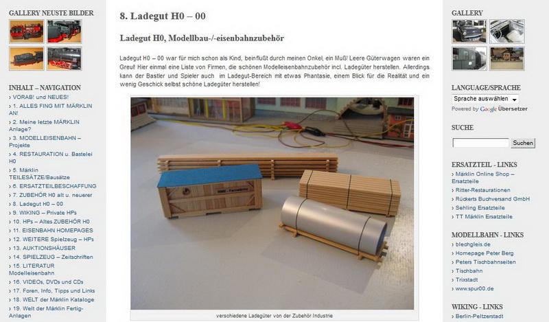 Ladegut H0 – 00