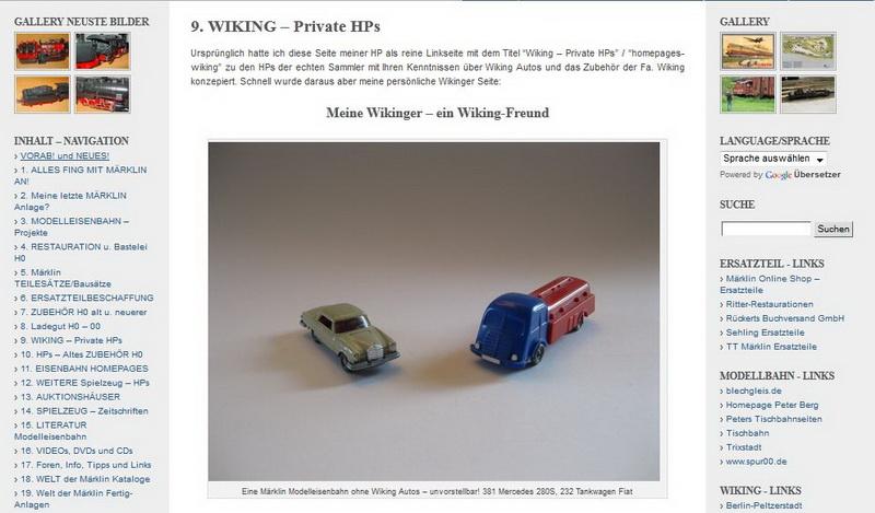 Meine Wikinger – ein Wiking-Freund