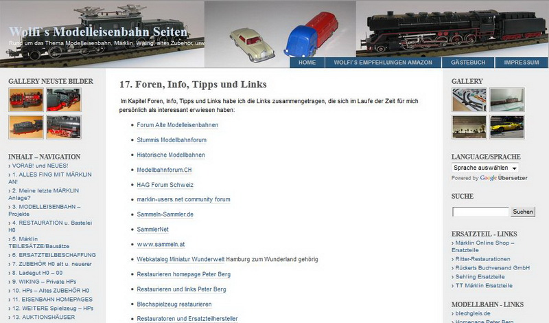 Foren, Info, Tipps und Links