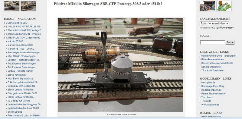 Märklin Silowagen SBB-CFF H0 - 06.02.2014