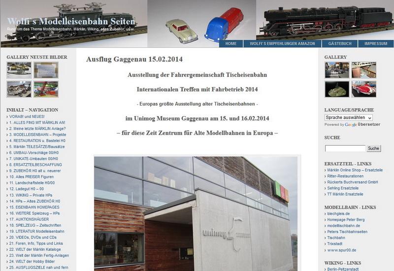 Ausflug Gaggenau Februar 2014 - 26.02.2014