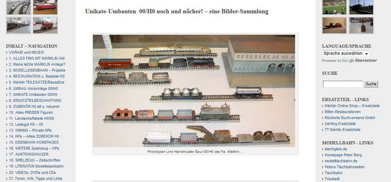7. UNIKATE-Umbauten 00/H0 - 10.02.2014