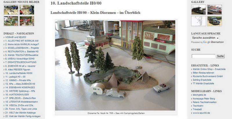 Landschaftsteile H0/00 – Klein-Dioramen – im Überblick - 21.12.2013