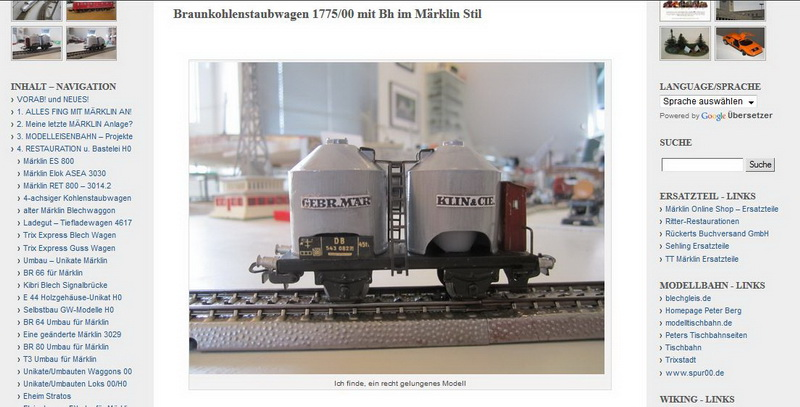 Braunkohlenstaubwagen 1775-00 - 13.02.2014
