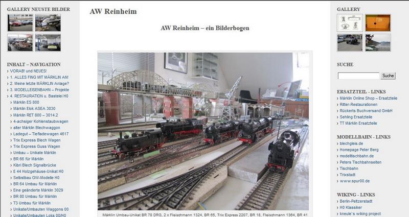 AW Reinheim – ein Bilderbogen